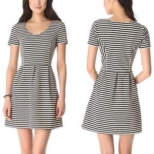 Madewell Striped Casual Bistro Dress